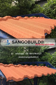 Sangobuild Stone Coated Metal Roof Tiles For Villa Construction In 2020 Metal Roof Tiles Roofing Systems Roofing Sheets