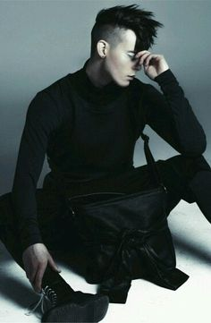 Visions of the Future: Men Black Fashion