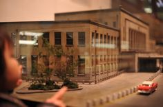 Miniature Ueno station
