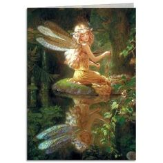 http://www.efairies.com/store/pc/Faery-Reflection-Greeting-Card-21p6367.htm  Price $2.95
