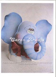 El Rincon Fofuchero: Fofuchas Animales( con moldes)