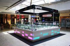 Kiosk Design, Store Design, Mall Kiosk, Food Kiosk, Mobile Phone Shops, Home Aquarium, Design Guidelines, Jewelry Showcases, Restaurant
