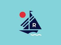 Sailing Mark by Steve Wolf Designs