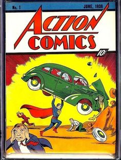 The first Superman comic book sold on eBay for $3.2 million. (Photo by eBay)