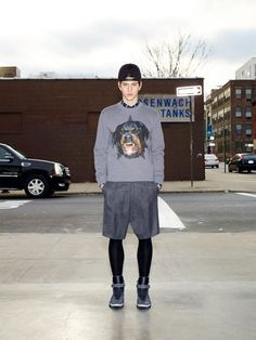 Fucking Young! » Givenchy Pre-Fall 2012 lookbook