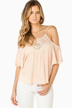 ShopSosie Style : Valentina Top in Blush