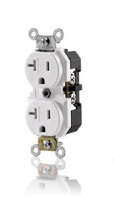 Leviton 20 Amp 125 Volt 3w Tamper Resistant Duplex Receptacle Ebay Link Duplex Electrical Wiring