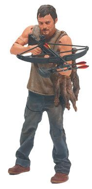 Walking Dead ~ Daryl Dixon action figure. This could go right next to my Dr. Tounge figure from Day of the Dead!