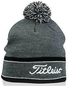 5cfb60e455d Amazon.com   New Titleist Pom Pom Winter Hat 2016 (Black)   Sports    Outdoors