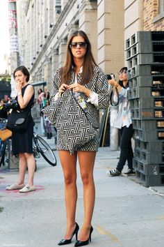 Los looks de mi armario: Street Style Inspiration, Short´s Power