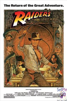 $21.15: Indiana Jones  Raiders Of The Lost Ark   Movie Poster 24 X 36