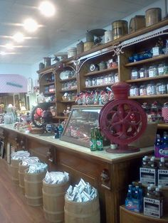 antique candy store - my idea of a REAL candy store :)