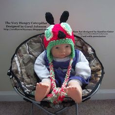 The Very Hungry Caterpillar (I did it myself!)