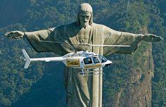 Passeio panorâmico sobre o Cristo Redentor  Rio de Janeiro R/J
