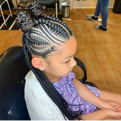 2019 Beautiful and Lovely Braids for Kids - Naloaded - 2019 Beautiful and Lovely Braids for Kids 2019 Beautiful and Lovely Braids for Kids - Little Girl Braid Styles, Kid Braid Styles, Little Girl Braids, Braids For Kids, Girls Braids, Kid Braids, Braids For Black Kids, Tree Braids, Black Kids Braids Hairstyles