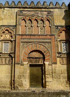 Portal de la Mezquita de Córdoba, España