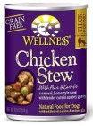 Wellness Chicken Stew Dog 12/12.5oz Cans