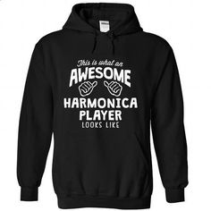 This is what an awesone harmonica player looks like - printed t shirts #teeshirt #clothing