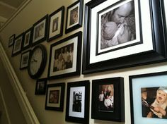 How to make a stairway picture wall that's not a catastrophe!