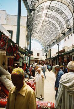 Market at Rabat, Marocco