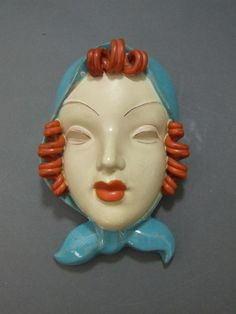 1000 Images About Art Deco Wall Masks And Ceramic Busts
