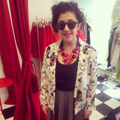 One of our favourite customers looking fabulous in her new @maryandmilly bird print jacket! Get the look and FREE UK shipping www.maryandmilly.co.uk @asosmarketplace & don't forget to tag us in your M&M outfits!!