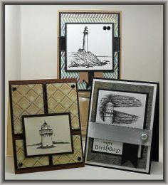 By Lisa Folley. Great ideas for masculine cards!