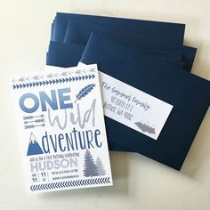 One Wild Adventure Party Invitations, Wild One First Birthday Party Invitations Wild One Birthday Party, Boy First Birthday, Boy Birthday Parties, Birthday Ideas, First Birthday Chalkboard, First Birthday Invitations, Baby Shower Invitations For Boys, Party Planning Checklist, And So The Adventure Begins