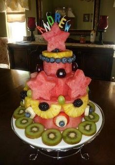 Natural Health & Healing God's Way: Healthy Birthday Cake decorating Ideas
