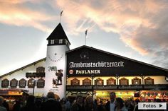 Armbrustschützenzelt Weise tent at Oktoberfest - Munich, Germany; Munich Oktoberfest, Oktoberfest Party, Continents And Countries, Munich Germany, Dream Vacations, Restaurant Bar, Places Ive Been, Beautiful Places, Mansions