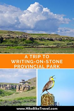 A Walk Back in Time in Writing-on-Stone Provincial Park - Hike Bike Travel What Is Graffiti, Places To Travel, Places To Go, Canadian Travel, Canadian Rockies, Old Faithful, Visit Canada, Back In Time, World Heritage Sites