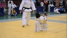 These Little Girls' First Judo Fight EndsAdorably