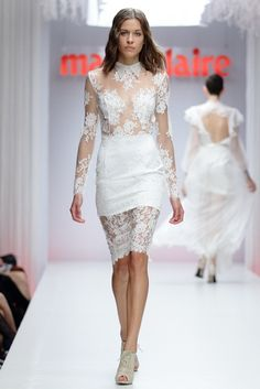 The Ametist dress / Nora Sarman Bridal / Marie Claire Fashion Days