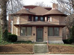Frank Lloyd Wright: (1897) George W. Furbeck House. Oak Park, Illinois. (2010) | Flickr - Photo Sharing!
