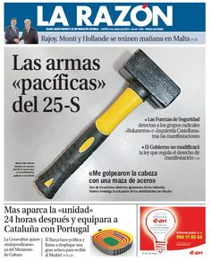 La Razón, 4 de octubre de 2012