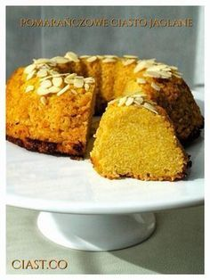 ciasto z kaszy jaglanej, ciasto pomarańczowe, ciasto bezglutenowe, pomarańczowe ciasto z kaszą jaglaną, ciasto jaglane