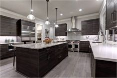 l shaped kitchen with island pics. kitchen island ideas for galley kitchens #kitchenislandideas