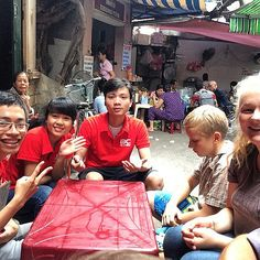 Here's the BC tour/family stay guys who took us out for lunch today - most awesome! #upsticksandgo #makingfriends #gettingtoknowthelocals #travelgram #travellingtheworld #hanoi #hanoioldquarter #Vietnam