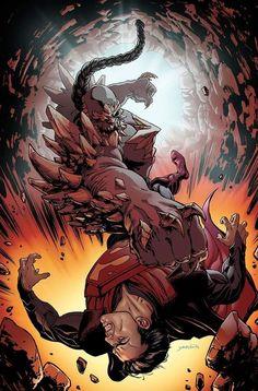 Superman/ Doomsday by David Yardin