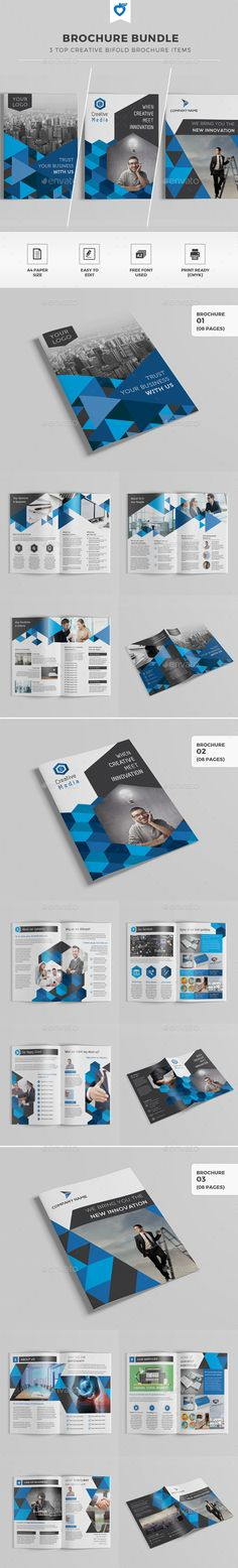 Brochure Bundle Templates #design Download: http://graphicriver.net/item/brochure-bundle/11716021?ref=ksioks