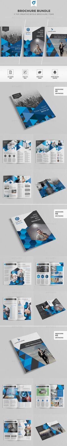 Brochure Bundle Templates #design Download: http://graphicriver.net/item/brochure-bundle/11716021?ref=ksioks