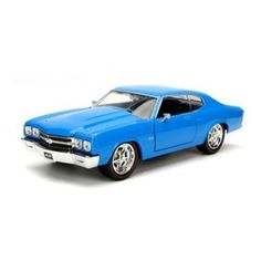 JADA 1:24 DISPLAY - BIG TIME MUSCLE - 1970 CHEVROLET CHEVELLE SS 98242-BL - NO RETAIL BOX #bigmuscletraining