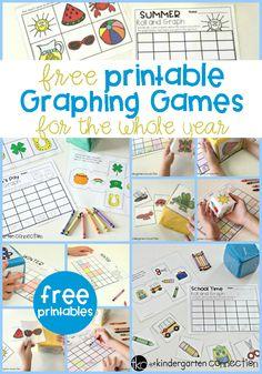 Free Roll & Graph Math Series