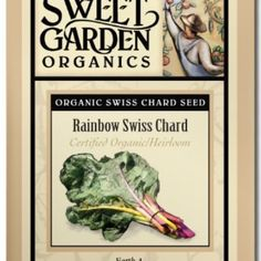 Rainbow Swiss Chard  from The Scribbled Hollow for $2.89 on Square Market