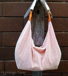 4 Hour Slouchy Summer Hobo Bag |Flamingo Toes