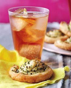 Garlic-Herb Pinwheels Recipe
