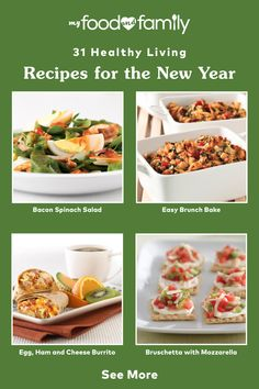 Time to get back on track with smart eating! Make it easy on yourself with this list of Healthy Living recipes, including mouthwatering flavors like Ham, Cheese & Sun-Dried Tomato Omelet, Slow-Cooker Oatmeal with Pears & Walnut, Butternut Squash & Black Bean Chili, and more. I Foods, Healthy Foods, Bacon Spinach Salad, Black Bean Chili, Healthy Living Recipes, Eat Smart, Ham And Cheese, Omelet, Sun Dried