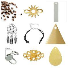 Ils vont être beaux vos bijoux de l'été avec toutes ces nouveautés à découvrir dans notre rayon bijoux DIY : https://creapause.fr/149-bijoux