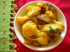 Aloo Gobi Recipe, Punjabi Aloo Gobi Sabzi recipe with Step by Step Pics
