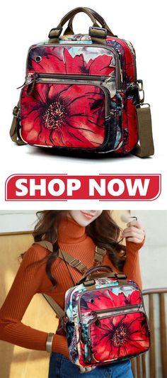 93d0da8156d2  HOT SALE  Flower Pattern Backpack Crossbody Bag  outdoor   crossbodybagsonsale